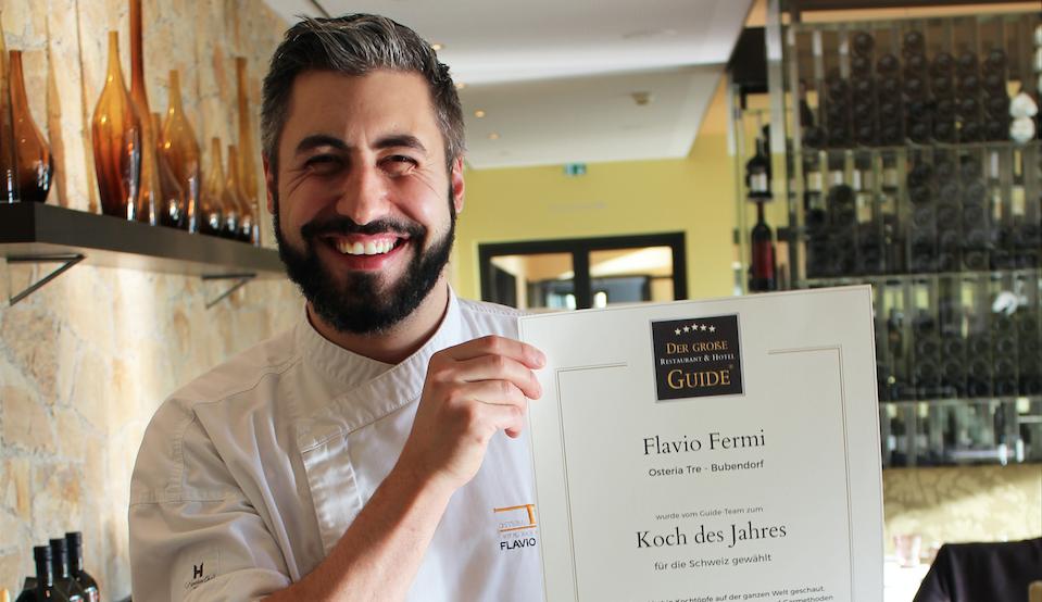 Flavio fermi als koch des jahres schweiz 2018 for Koch des jahres 2017